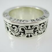 925 Sterling Silver King Baby Usa Ring Size 10 3/4