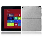 Skinomi Brushed Aluminum Cover+screen Protector For Microsoft Surface Windows Rt
