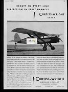 Curtiss Wright Sedan Airliner 1931 Beauty In Every Line Delta Airlines Ad