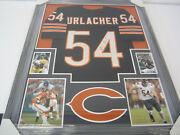 Brian Urlacher Chicago Bears Signed Autographed Home Football Jersey Jsa Witness