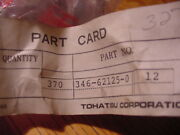 New Nissan Tohatsu Nut Stainless 346621250