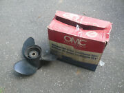 Omc 14 1/2 X 19 Stainless Steel Propeller Part 390821 Lh Counter Rotate Nos