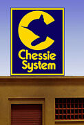 Miller Engineering Chessie Super Animated Neon Sign Kit Ho/o Scale Train 88-2751