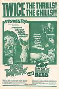 Tomb Of Torture/cave Of The Living Dead Original Onesheet Poster Wolfgang Preiss