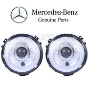 For Mercedes W463 G Class G63 Amg Set Left And Right Xenon Headlight Assies Oes