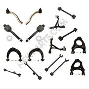 For Acura Tl 2009-2014 Front And Rear Control Arms And Tie Rod Ends Kit