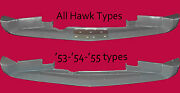 Studebaker C/k Coupe And Hawk 1956-1964 Front Lower Air Deflector