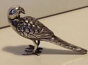 Antique Silver Judaica Spice Tower Box Jewish Besamim Parrot Shaped Germany