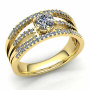 3ct Round Diamond Mens Bridal Solitaire Engagement Ring 14k Gold