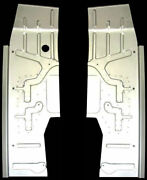 Studebaker C/k Coupe And Hawk 1953-61 Full Floor Panel Set Left And Right