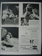 1947 Lynn Fontanne Pacquins Hand Cream Lotion Skin Care Vintage Print Ad 12566