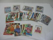 Nfl Football Trading Cards Mixed Lot Of Players Some Are Signed Lot Of 60