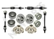 For Bmw E90 E91 325xi 330xi 06 Complete Front And Rear Automatic Trans Axle Kit
