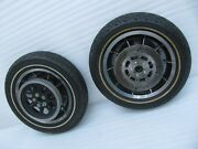 Set Harley Davidson Touring Front And Rear Wheels And Tires And Rotors And Pulley