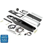 1966 Chevelle El Camino Automatic Complete Center Console Kit With Clock