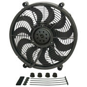 Derale Cooling Fan Assembly 18217 High Output Single Rad 17 Single Electric