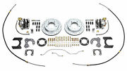 1966-1977 Early Ford Bronco Rear Disc Brake Conversion New Ford 9 Slotted