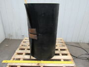 1/2 Thick 3-ply Heavy Duty Black Smooth Rubber Conveyor Belt 34'l X 36w
