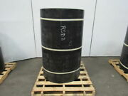 1/2 Thick 3-ply Heavy Duty Black Smooth Rubber Conveyor Belt 132'l X 54w