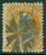Edw1949sell Usa 1868 Scott 100 Used. Fresh Stamp. Small Faults. Catalog 950.