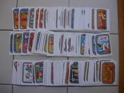2014 Wacky Packages Series 1 Ans 12 Complete Set 110 Silver Cards Both Backs X55