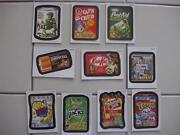 Wacky Packages Ans 10 Complete Set 10 Magnets - New Ans 10 Now Out Of Print