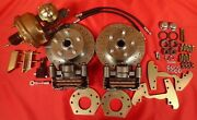 1960-1965 Falcon Power Disc Brake Changeover For Six Cylinder Spindles 5 Lug