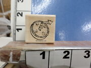 Stampin Up Compass  Rubber Stamp 8u
