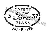 1932-52 Ford Glass Etching Kit Original Style Glass Bugs For Your Restoration