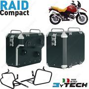 Suitcases Alu Compact 33+ 39 L And Frames Bmw 1150 R Gs / Adventure 1999-2004