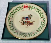 Lenox Annual Holiday Collector Plate - Rocking Horse - 1992 - Ltd Ed