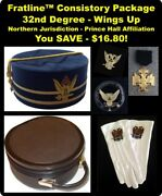 32nd Degree Consistory Package - Northern Jurisdiction P.h.a.