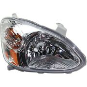 Headlight For 2003 2004 2005 Toyota Echo Base Model Right Clear Lens With Bulb