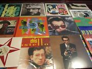 Elvis Costello Mfsl 9 Collection + Rare 10 + Idiot - Delivery - Hits - 20 Lps