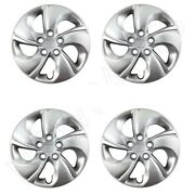 Set Of 4 Steel Wheel Covers 15 Inch Genuine 44733-tr3-a00 For Honda Civic Lx