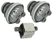 Mercedes R230 12cyl Engine +a/t Mounts 3 Pcs Auto Transmission Motor Support