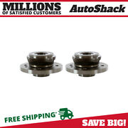 Front Wheel Hub Bearing Assembly Pair 2 For 2002-2005 2006 Mini Cooper 1.6l