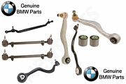 For Bmw E31 Front Control Arms+support Arm W/ Bushings And Tie Rod Assemblies Kit