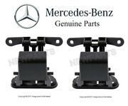 For Mercedes C209 Clk320 Clk500 Pair Set Of 2 Soft Top Compartment Lid Hinge Oes
