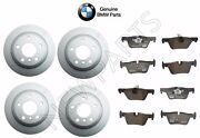 For F30 F31 F32 3 And 4 Series Vented Front And Rear Disc Brake Rotors Pads Kit Oes
