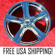 Set Of 4 Chrome 19 Ford Mustang Factory Oem Wheels Rims 3910