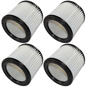 4-pack Hqrp Cartridge Filter For Shop-vac 5 Hangup And 1-4 Gallon 90398 Type Aa