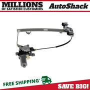 Rear Driver Power Window Regulator With Motor For 2003-2009 Hummer H2 6.0l 6.2l