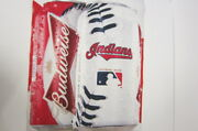 Cleveland Indians Budweiser Large Vinyl Sign Our Pastime Our Beer Baseball