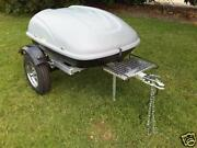 New Pull Behind Motorcycle Trailer For Harley Honda Gold Wing Gl 1800