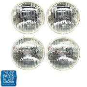 1960-67 Gm T-3 T3 Headlights Headlamps 2 High And 2 Low Beams Set Of 4