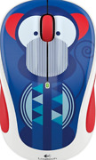 Logitech Wireless Optical Mouse M325c Collection Marc Monkey Multicolor New