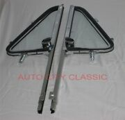 1964 1965 1966 Chevrolet Gmc Pickup Truck Vent Post Assembly Clear Glass Pair
