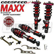 For Mini Countryman R60 2010-15 Godspeed Mmx3540 Maxx Coilovers Camber Plate Kit