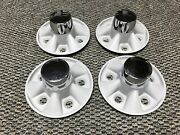 Nos Superior Industries Center Caps 27101 5 X 4.5 Ford Dodge Plymouth Mercury